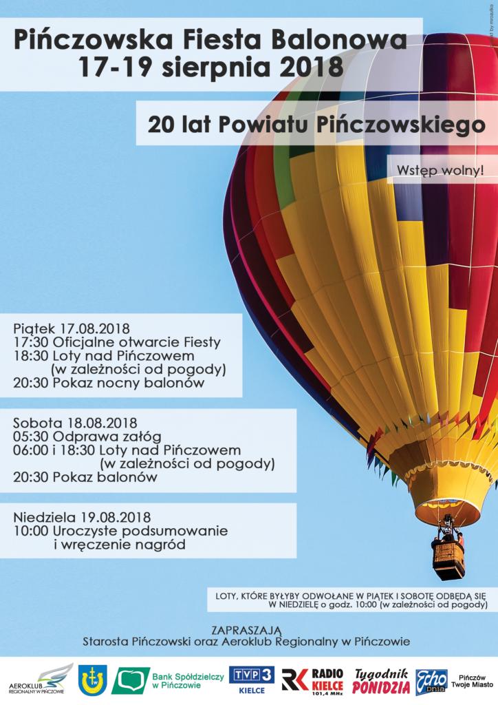 Fiesta Balonowa Plakat